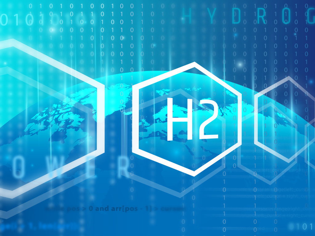 elemental hydrogen concept from the periodic table of chemical light picture id1265024853