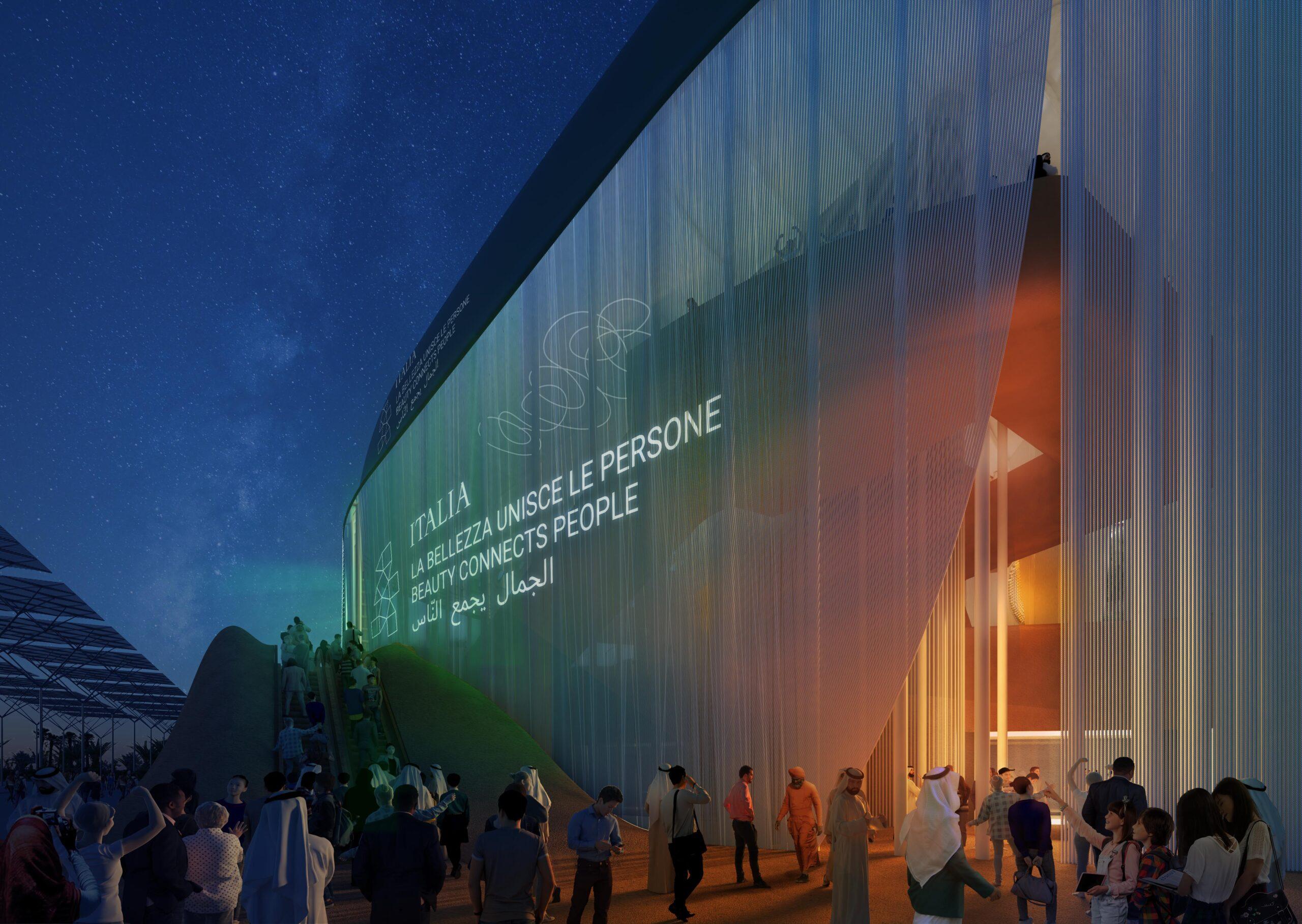 Il Padiglione Italia a Expo 2020 Dubai rendering 9 scaled